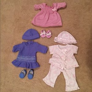 Bitty baby- authentic American girl outfits